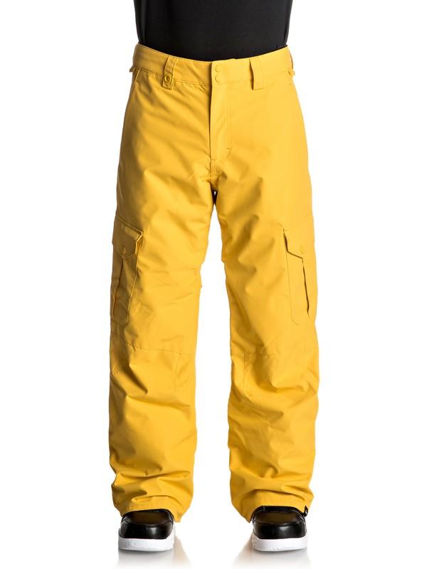 0 Porter Snow Pants Yellow EQYTP03062 Quiksilver