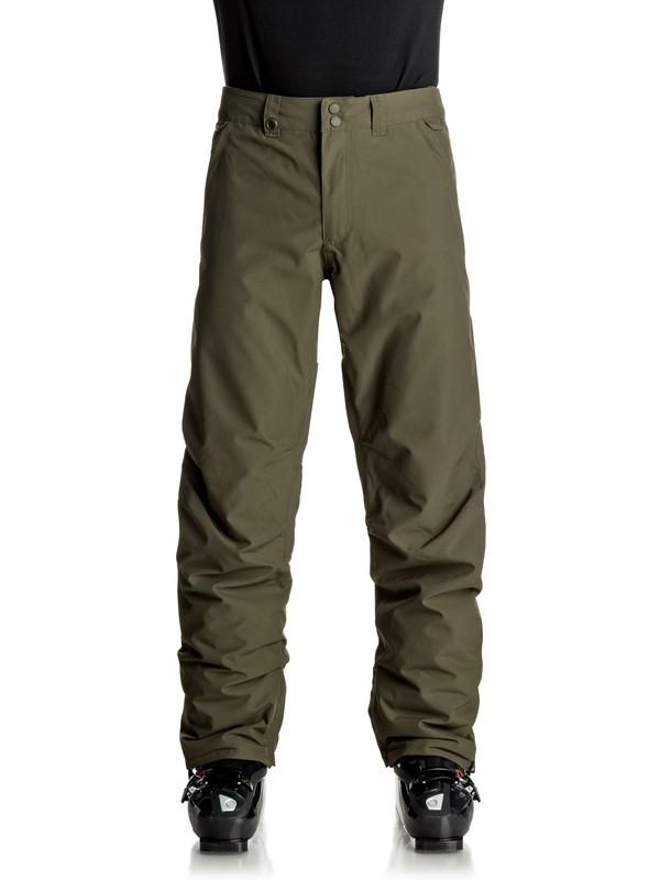 0 Estate - Snow Pants Brown EQYTP03064 Quiksilver