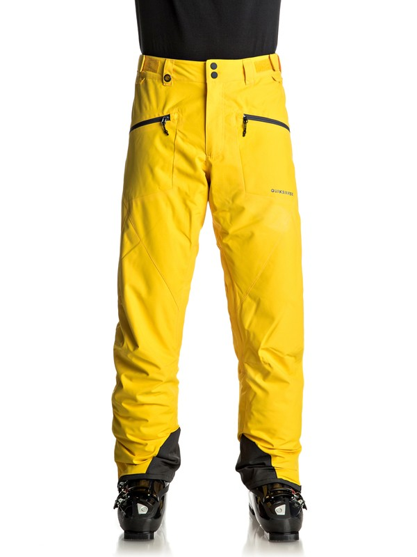 0 Boundry - Snow Pants Yellow EQYTP03065 Quiksilver