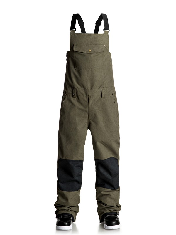0 Found Bib Snow Pants  EQYTP03066 Quiksilver