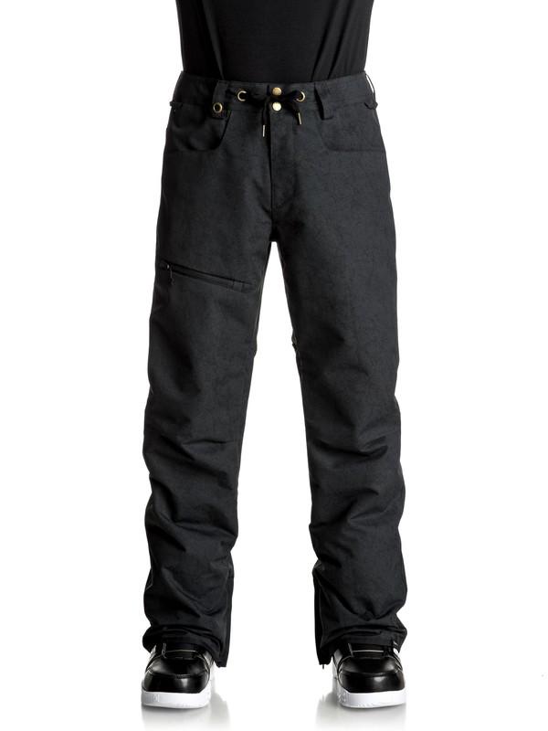 0 Forest Oak Snow Pants Black EQYTP03067 Quiksilver