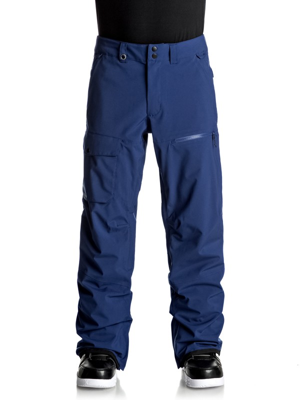 0 Utility Stretch Snow Pants  EQYTP03076 Quiksilver