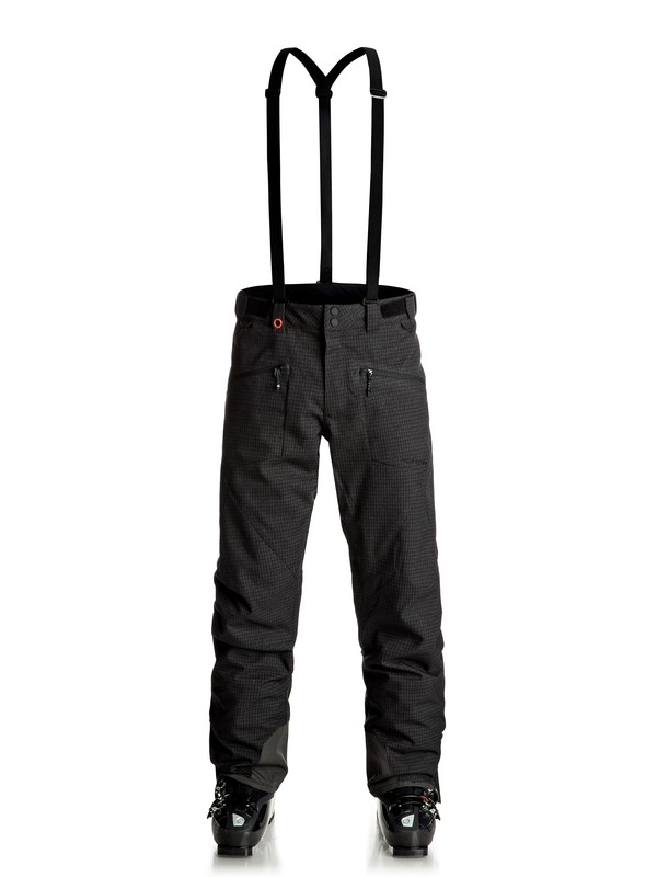 0 Boundry Plus - Pantaloni da snowboard Black EQYTP03077 Quiksilver