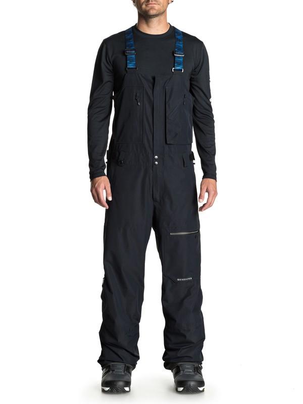 0 Altostratus 2L GORE-TEX® Snow Bib Pants Black EQYTP03079 Quiksilver