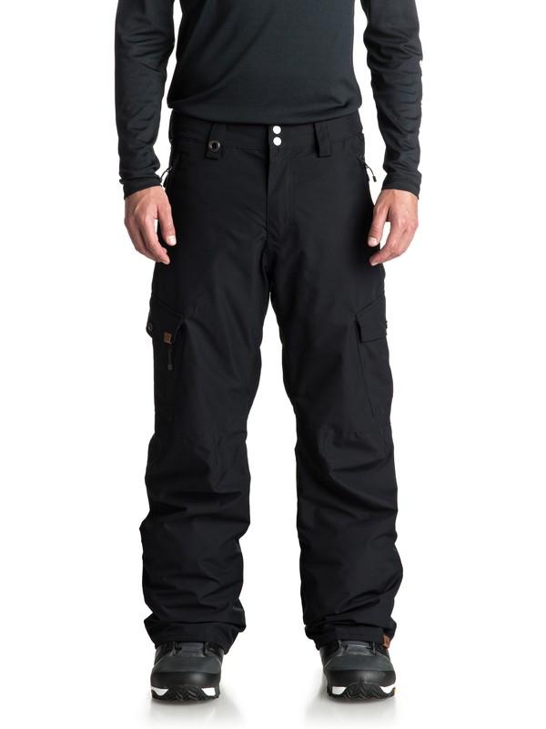 0 Сноубордические штаны Porter Черный EQYTP03087 Quiksilver