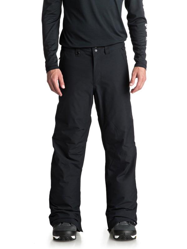 0 Estate Snow Pants Black EQYTP03088 Quiksilver