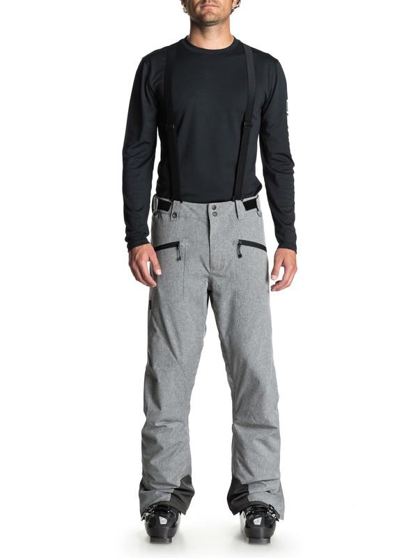 0 Boundry Plus - Snow Pants for Men Black EQYTP03096 Quiksilver