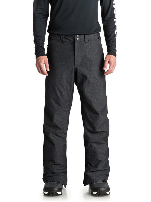 0 Estate - Pantalones Para Nieve para Hombre Negro EQYTP03105 Quiksilver