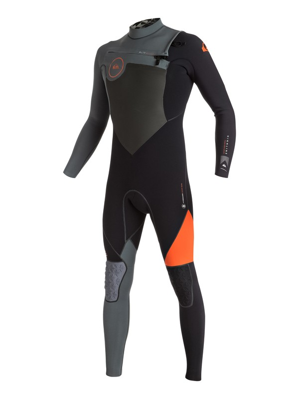 0 Highline Performance 4/3mm Chest Zip Full Wetsuit  EQYW103018 Quiksilver