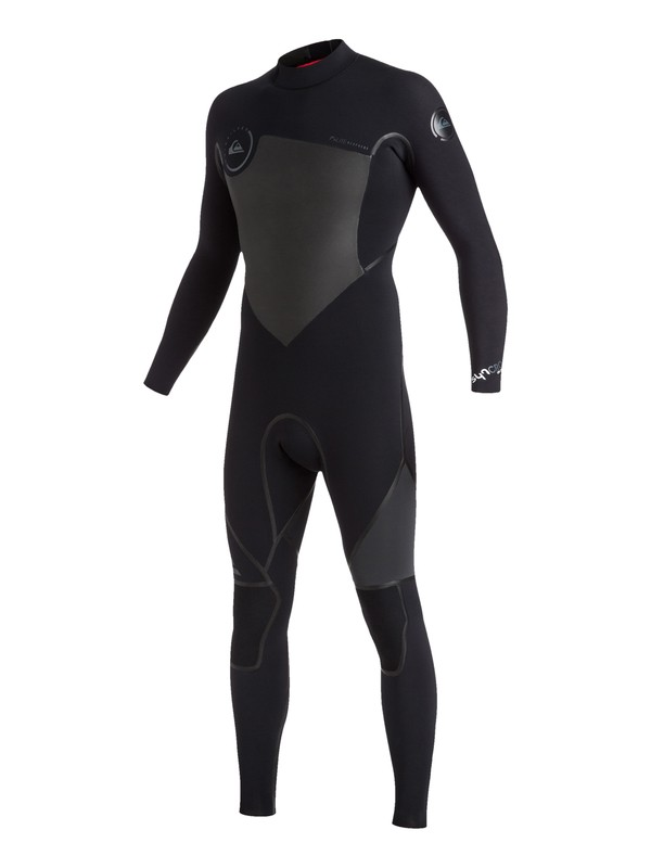 0 Syncro Plus 4/3mm Back Zip Full Wetsuit  EQYW103022 Quiksilver