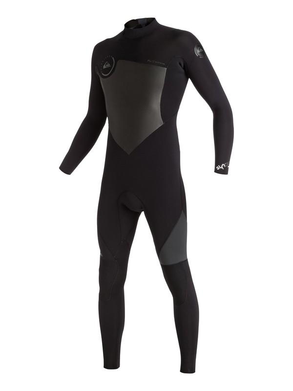 0 Syncro 3/2mm - Back Zip Full Wetsuit  EQYW103029 Quiksilver