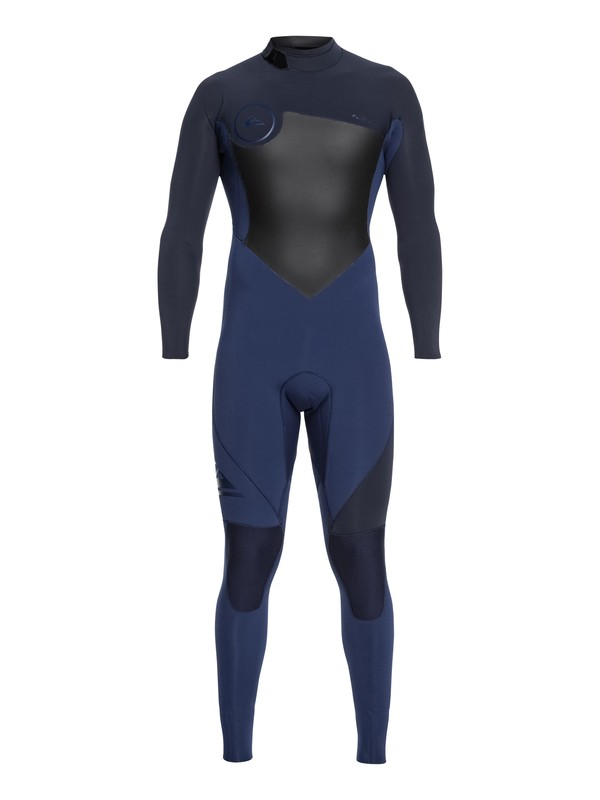 0 3/2mm Syncro Series - Back Zip GBS Wetsuit Blue EQYW103037 Quiksilver
