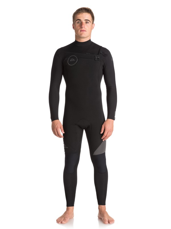 0 3/2mm Syncro Series Chest Zip GBS Wetsuit Black EQYW103038 Quiksilver