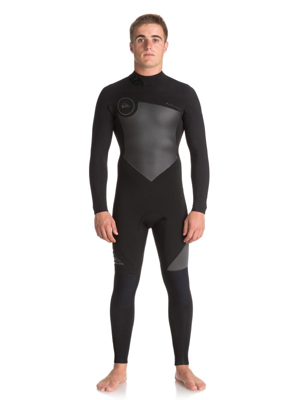 0 4/3mm Syncro Series Back Zip GBS Wetsuit Black EQYW103041 Quiksilver