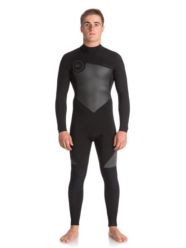 0 4/3mm Syncro Series - Back Zip GBS Wetsuit for Men Black EQYW103041 Quiksilver