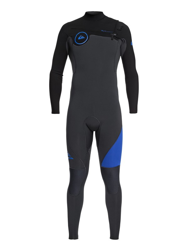 0 4/3mm Syncro Series - Chest Zip GBS Wetsuit for Men Blue EQYW103042 Quiksilver