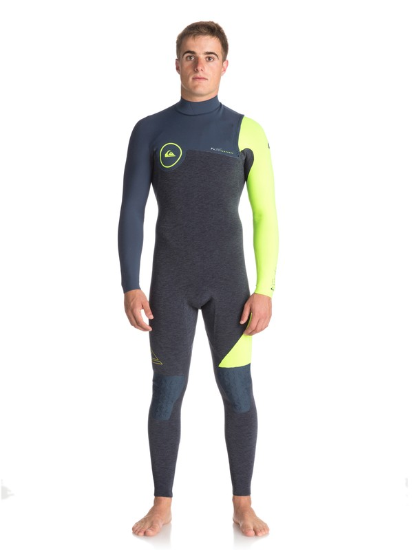 0 4/3mm Highline Series - Zipperless Wetsuit for Men  EQYW103051 Quiksilver
