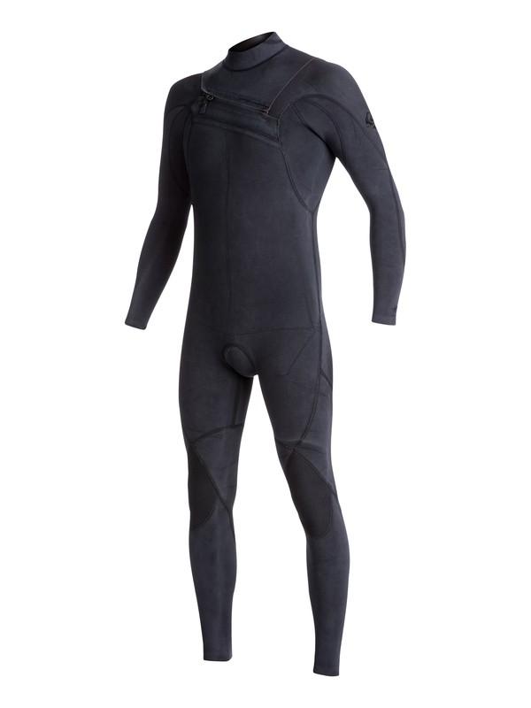 0 4/3mm Quiksilver Originals Monochrome Chest Zip Wetsuit  EQYW103052 Quiksilver