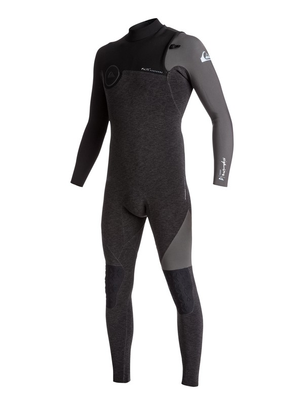 0 2mm Highline Series - Zipperless Wetsuit Black EQYW103057 Quiksilver