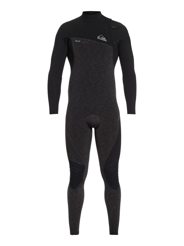 0 4/3mm Highline Lite - Zipperless Wetsuit for Men Black EQYW103061 Quiksilver