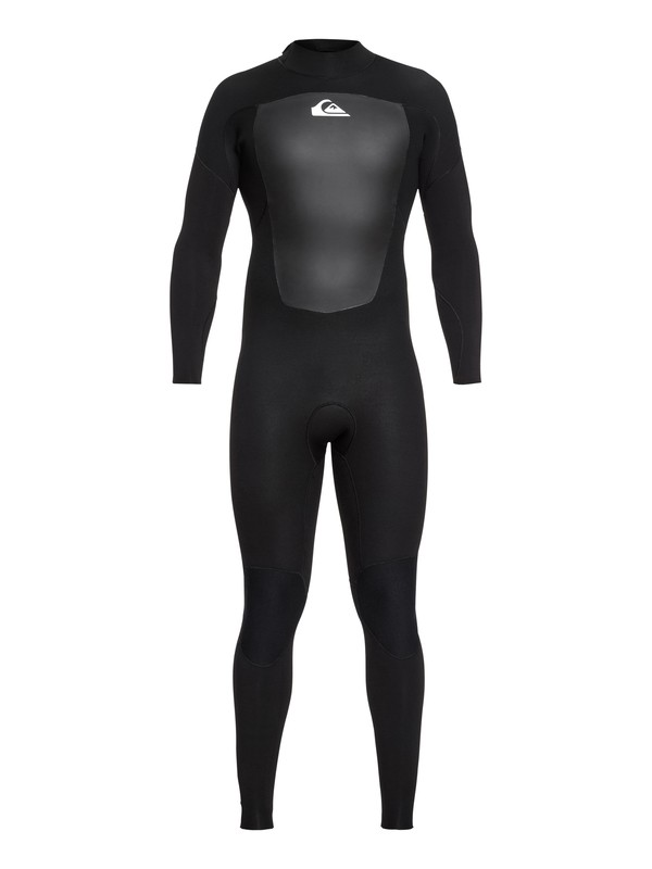0 3/2mm Prologue - Back Zip Wetsuit Black EQYW103068 Quiksilver