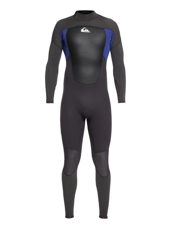 0 3/2mm Prologue Back Zip Wetsuit Black EQYW103068 Quiksilver
