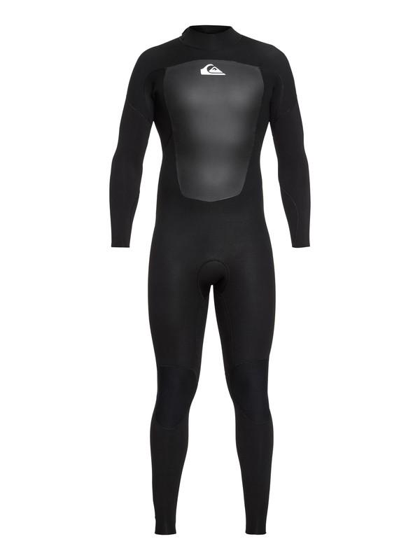 0 5/4/3mm Prologue - Back Zip Wetsuit for Men Black EQYW103072 Quiksilver