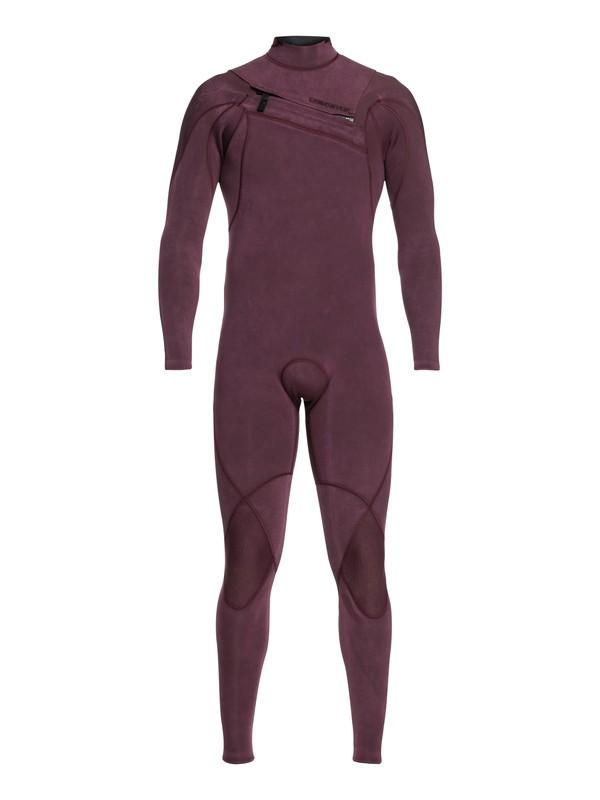 0 4/3mm Highline Limited Monochrome - Combinaison zip poitrine pour Homme Rose EQYW103074 Quiksilver