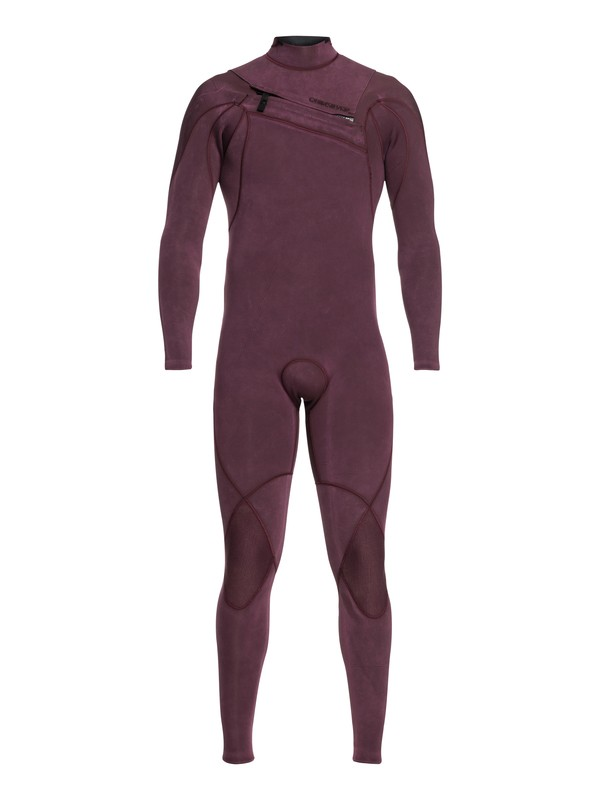 0 3/2mm Highline Limited Monochrome - Chest Zip Wetsuit for Men Pink EQYW103075 Quiksilver