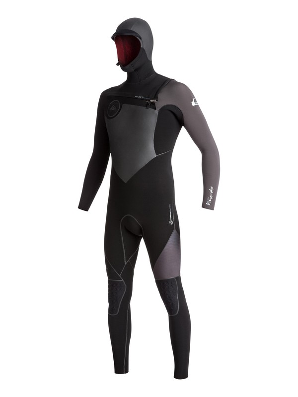 0 6/5/4 Highline Plus - Hooded Full Chest Zip Wetsuit  EQYW203007 Quiksilver