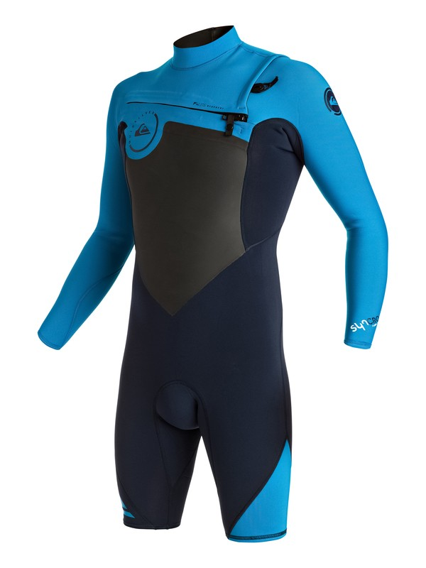 0 Syncro 2/2mm - Springsuit manches longues zip poitrine  EQYW403002 Quiksilver