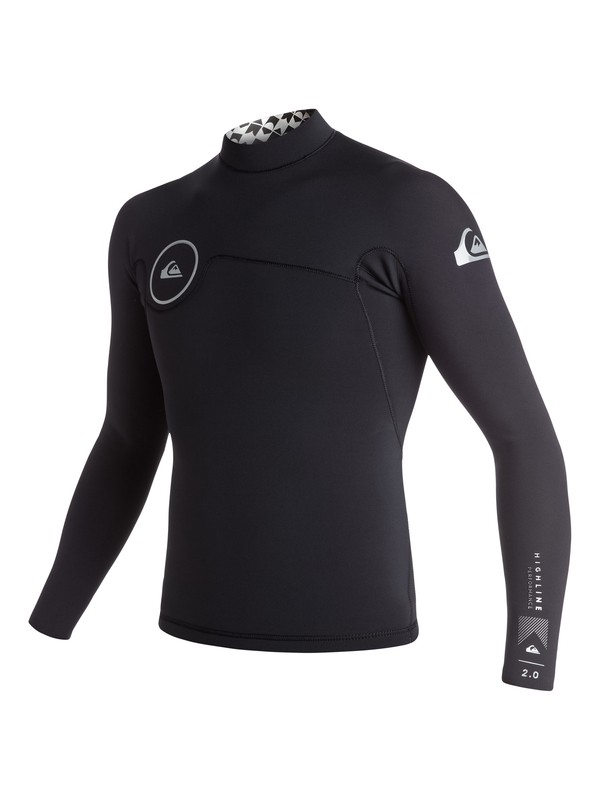 0 Highline Performance 2mm Long Sleeve Neo Jacket  EQYW803002 Quiksilver