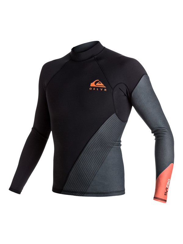 0 1mm Syncro New Wave - Long Sleeve Neoprene Top  EQYW803004 Quiksilver