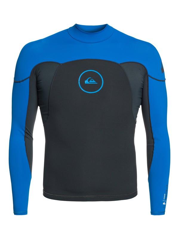 0 1mm Syncro Series - Top de surf à manches longues néoprène pour Homme Bleu EQYW803008 Quiksilver