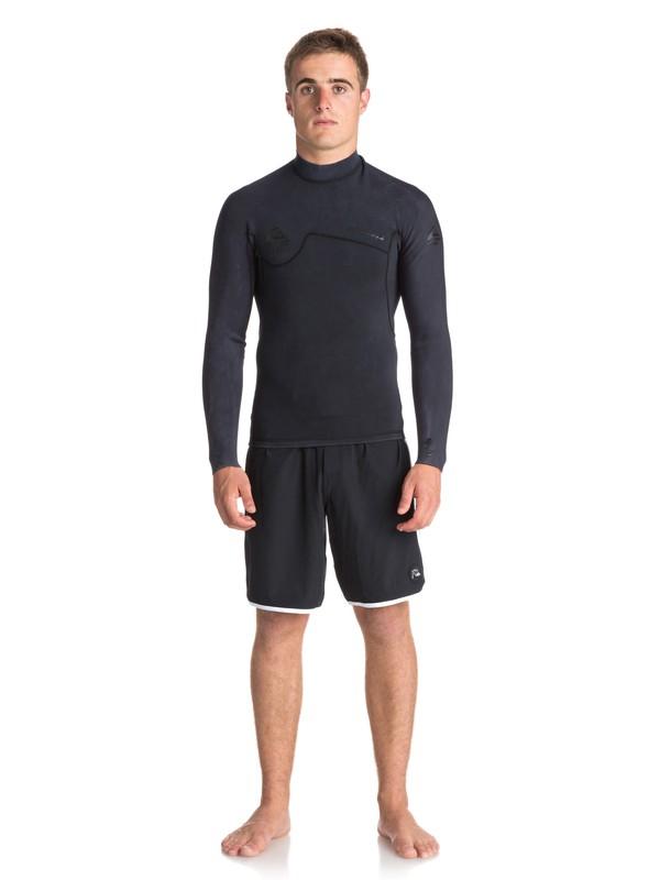 0 1.5mm Quiksilver Originals Monochrome - Wetsuit Top for Men Black EQYW803010 Quiksilver