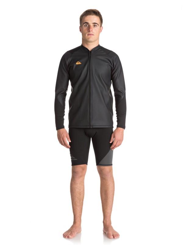 0 Waterman - Veste de paddle pour Homme Noir EQYW803013 Quiksilver
