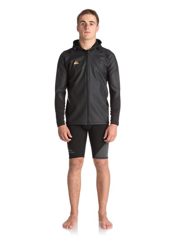 0 Waterman - Kapuzen-SUP-Jacke für Männer Schwarz EQYW803014 Quiksilver