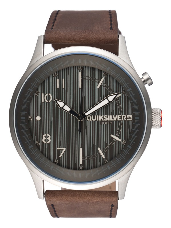 0 Admiral Leather Watch  EQYWA00008 Quiksilver