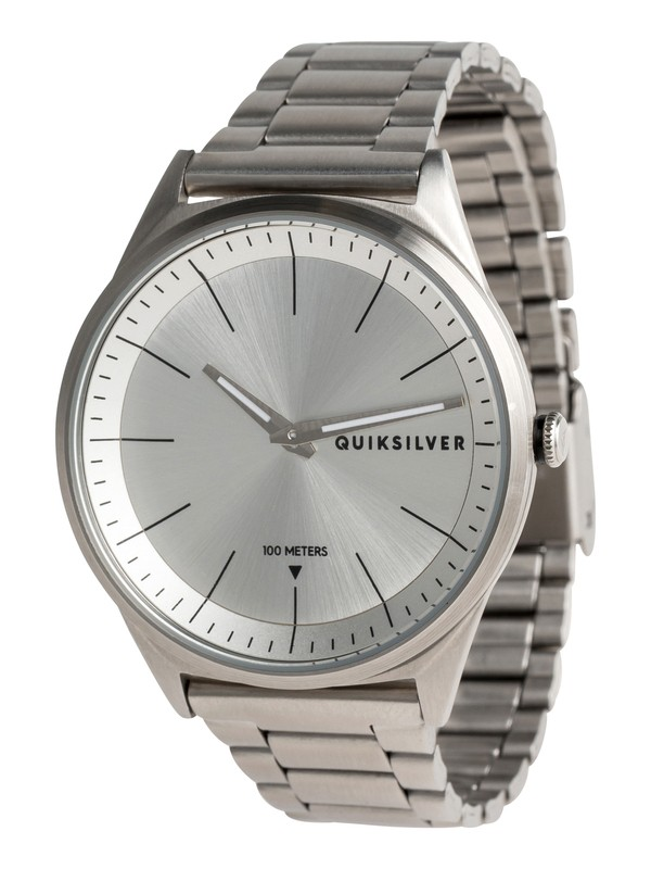 0 Bienville Metal Analog Watch Grey EQYWA03013 Quiksilver