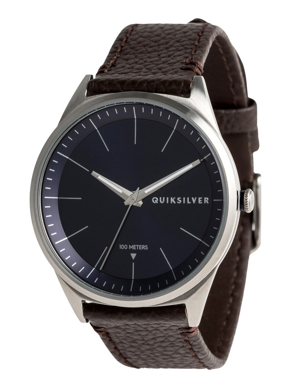 0 Bienville Leather Analog Watch  EQYWA03014 Quiksilver
