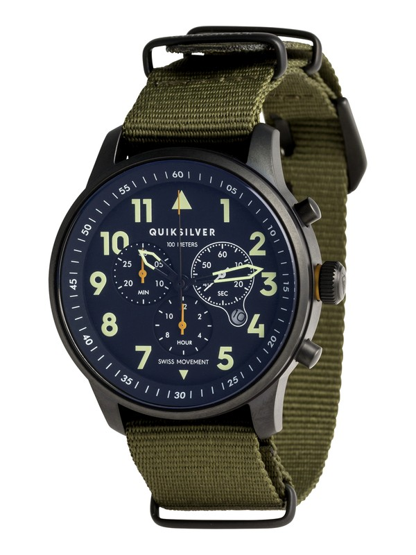 0 Seafire NATO - Montre analogique pour Homme Vert EQYWA03016 Quiksilver