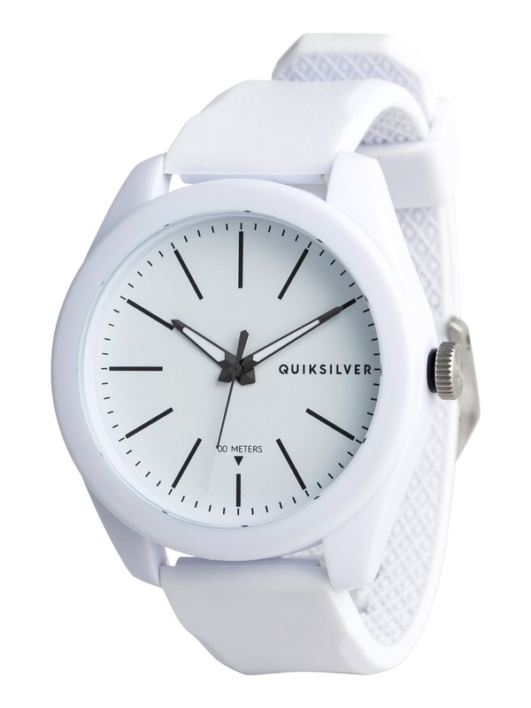 0 Furtiv Analog Watch White EQYWA03022 Quiksilver