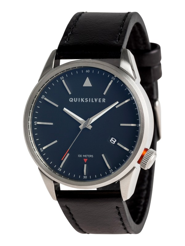 0 The Timebox 42 Leather - Reloj Analógico para Hombre  EQYWA03027 Quiksilver