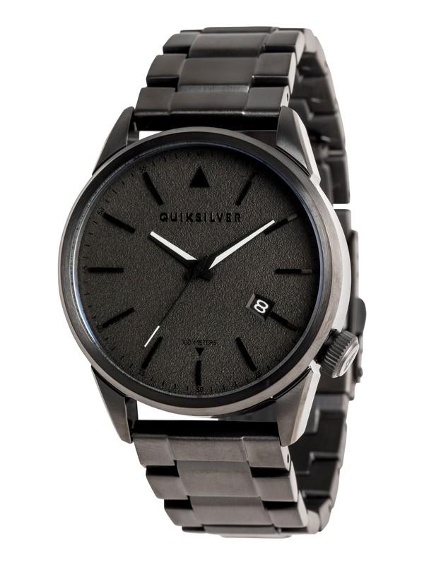 0 The Timebox 42 Metal - Montre analogique pour Homme Noir EQYWA03028 Quiksilver