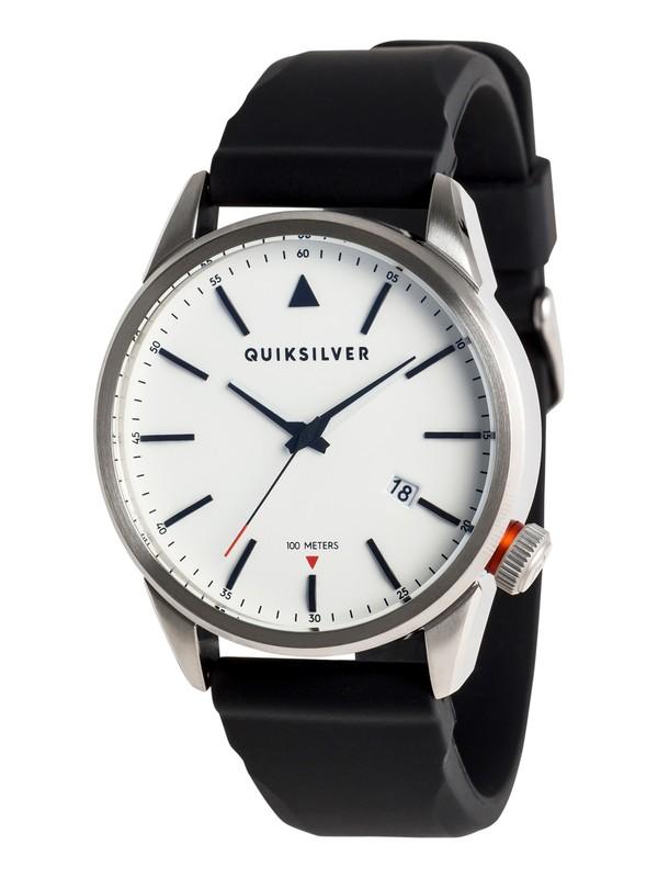 0 The Timebox 42 Silicone - Montre analogique pour Homme Gris EQYWA03029 Quiksilver