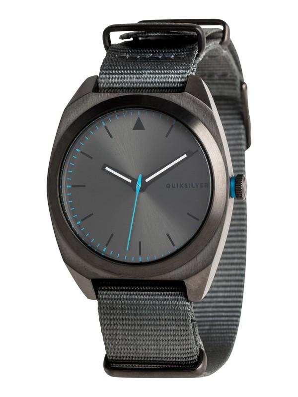 0 The PM Nato - Reloj Analógico para Hombre Negro EQYWA03032 Quiksilver