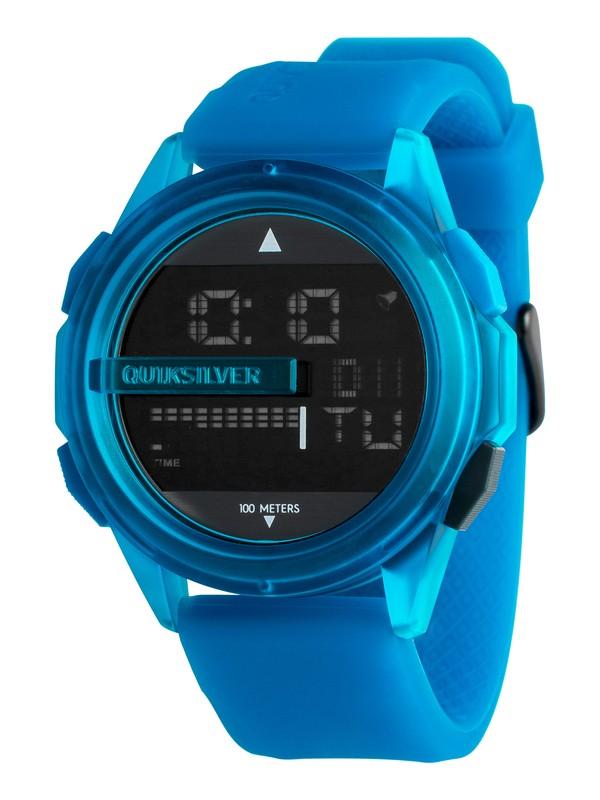 0 Drone - Montre digitale pour Homme Bleu EQYWD03003 Quiksilver