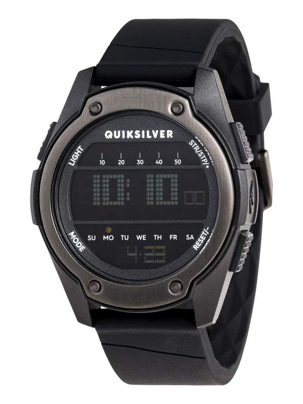 0 Stringer Digital Watch Black EQYWD03004 Quiksilver