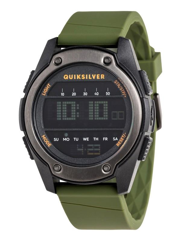 0 Stringer Digital Watch Black EQYWD03004 Quiksilver