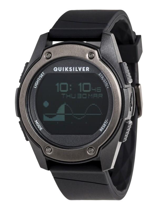 0 Stringer Tide - Digital Watch Black EQYWD03005 Quiksilver